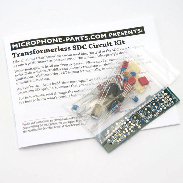 transformerless circuit kit