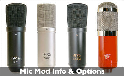 Mods for Your Microphones