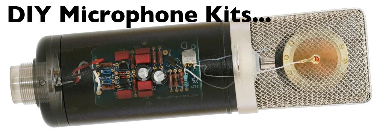 DIY Microphone Kits | Large-Diaphragm Capsules | Mic Mods