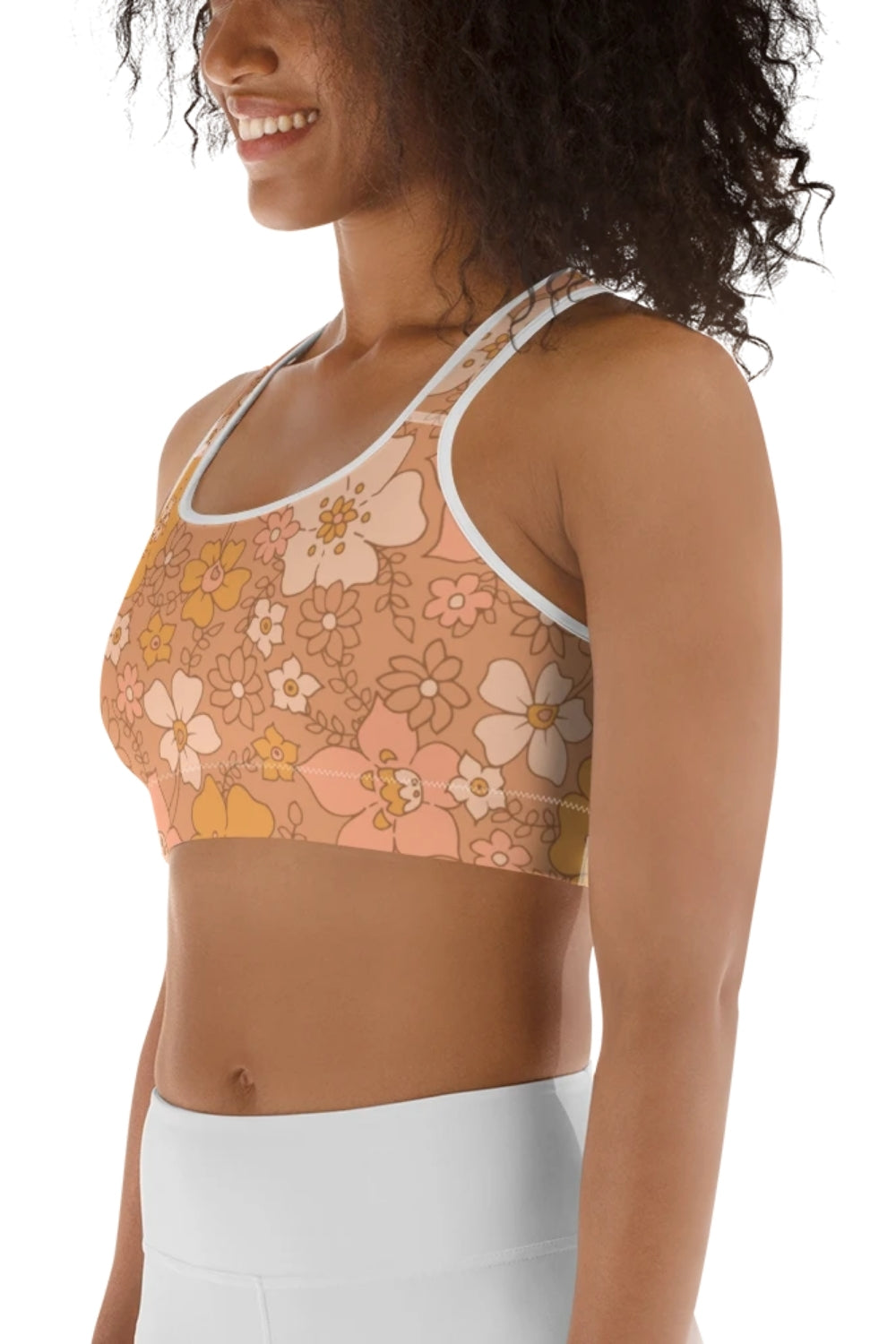 Peachy Keen Sports Bra