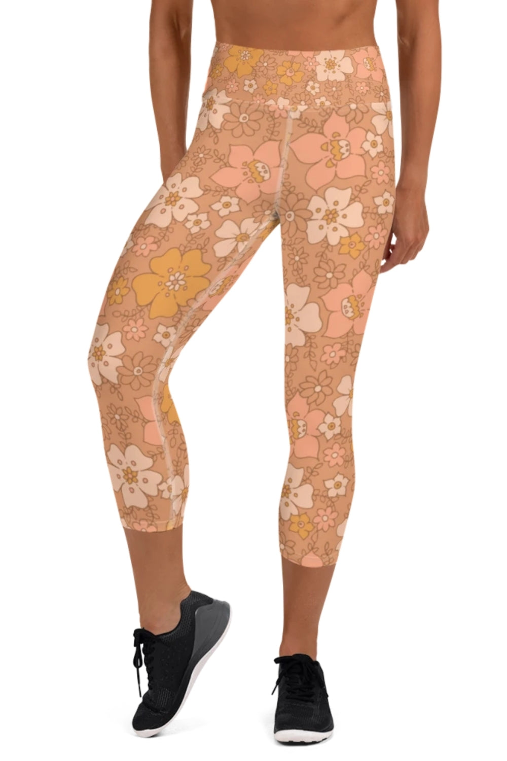 Peachy Keen 3/4 Yoga Leggings