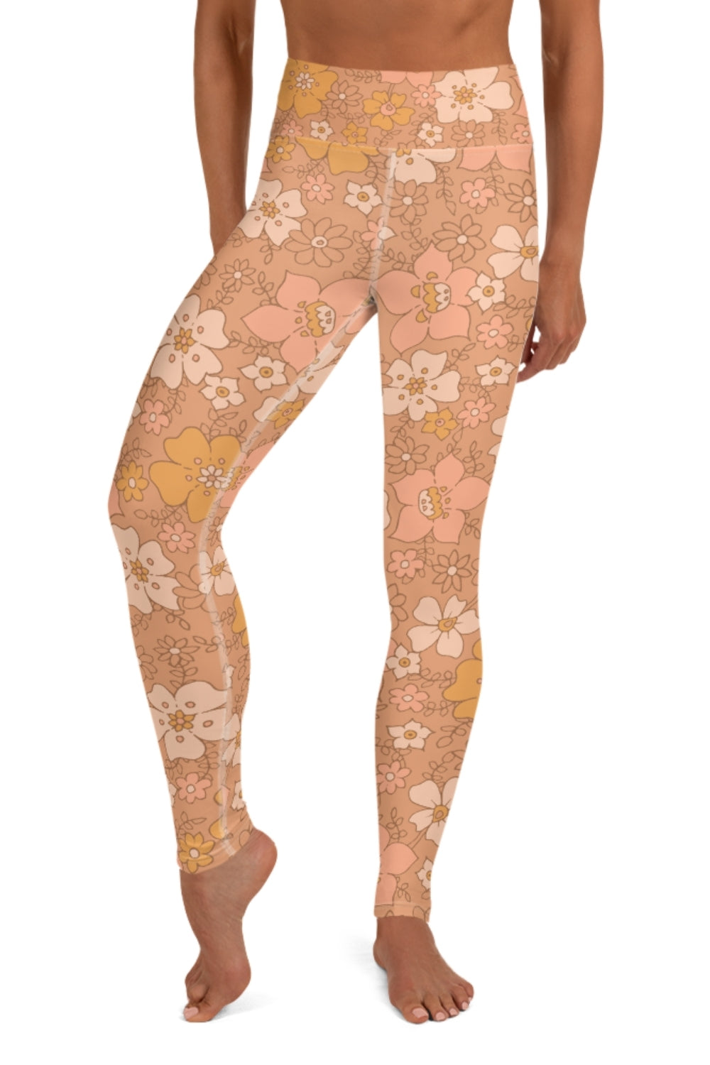 Peachy Keen Yoga Leggings