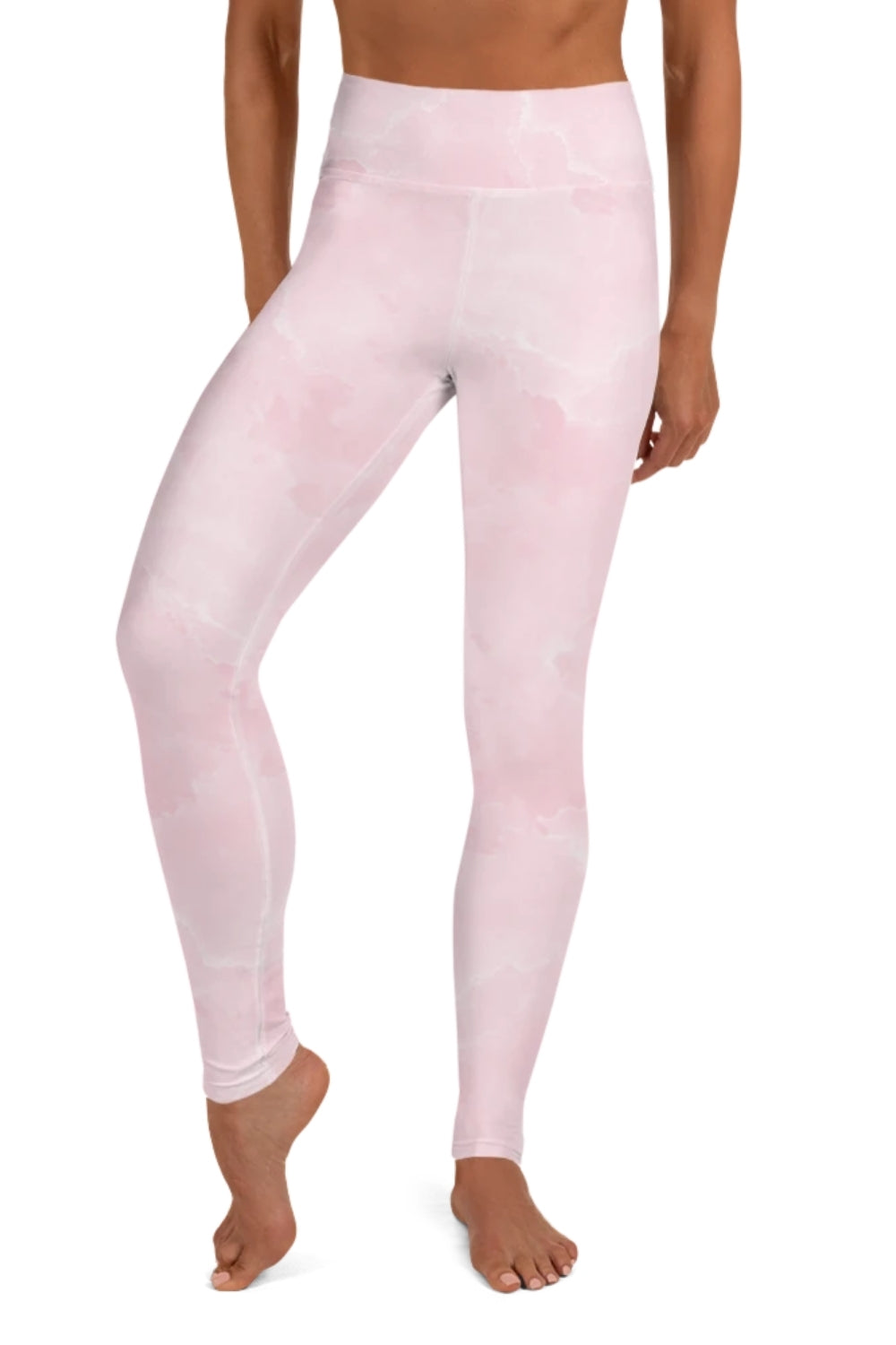 Pink Wash Yoga Leggings