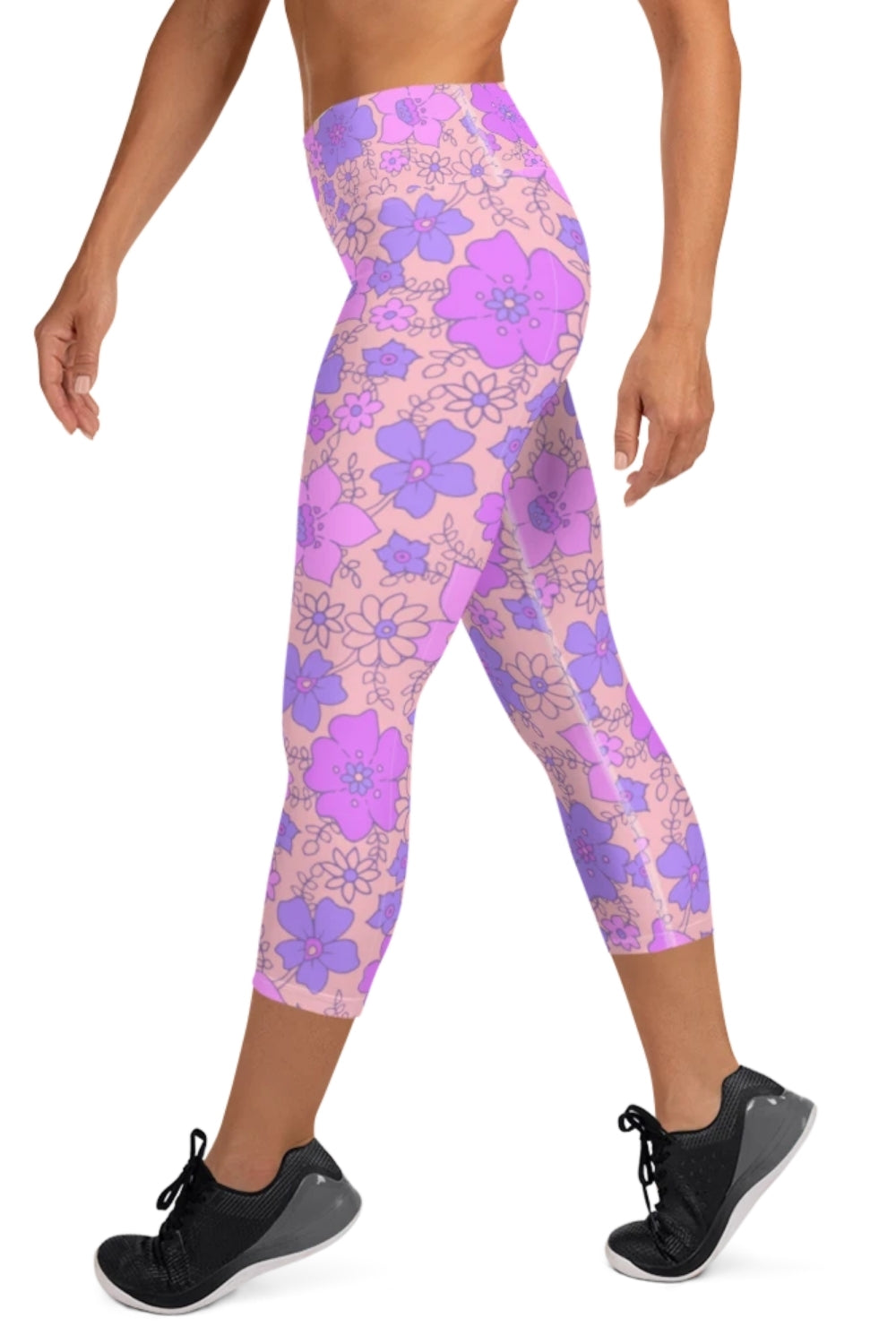 Honolulu 3/4 Yoga Leggings