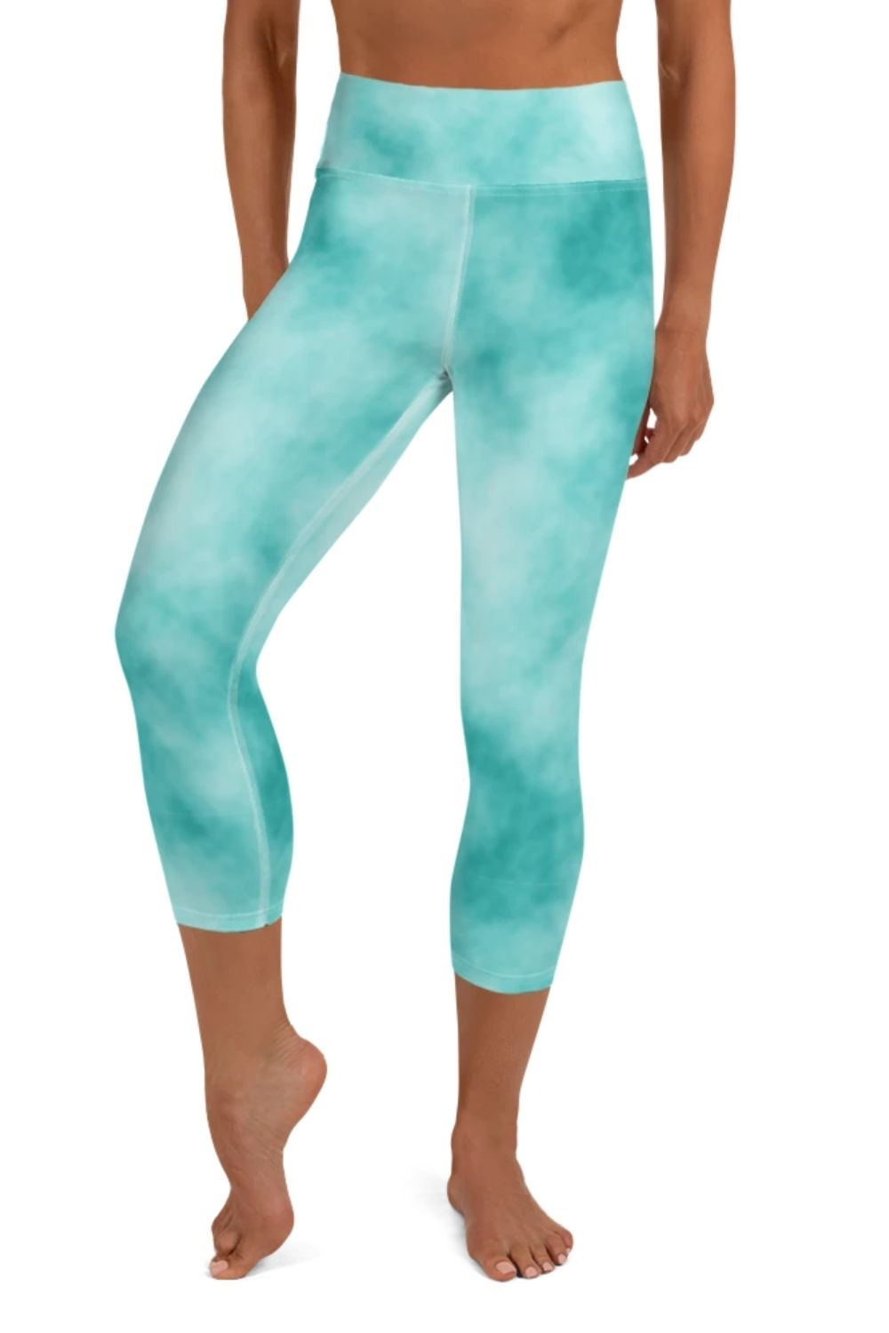 Sea Foam 3/4 Leggings