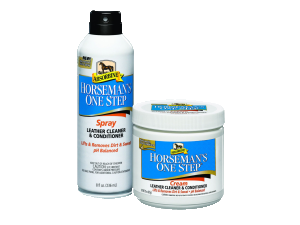 Horseman's One Step leather cleaning and conditioning cream