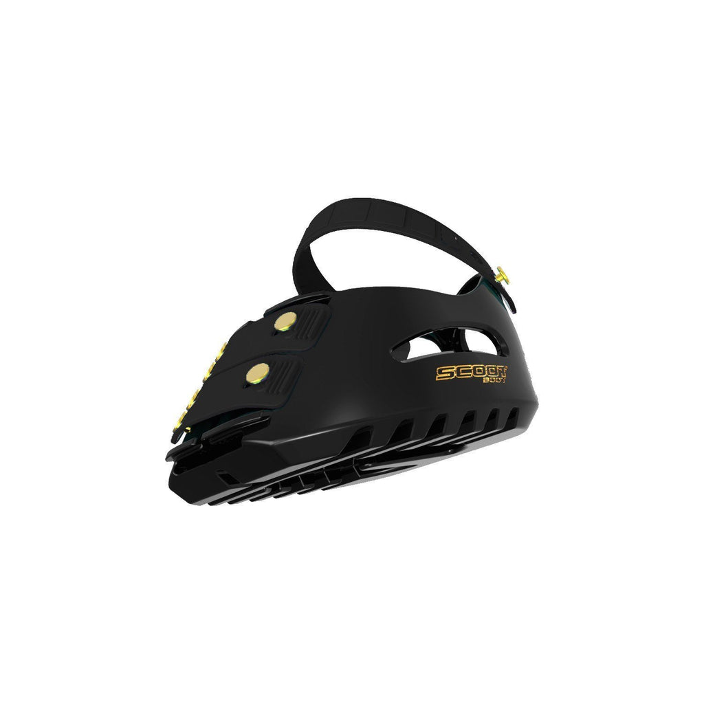 Scoot Boot: constructed using thermo plastic urethane for a strong but lightweight hoof boot.