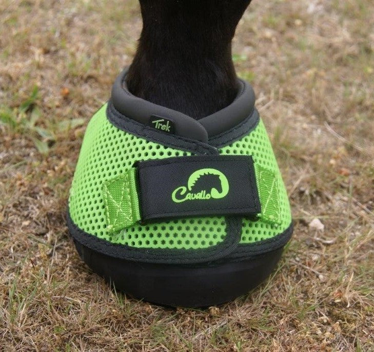 Cavallo Trek Green Hoof Boot