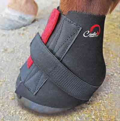 Cavallo pastern wrap. A gaiter for use with Cavallo hoof boots.