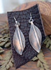 Modern Leaf Earrings
