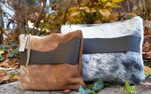 Cowhide Clutches/Accessory cases