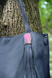 Classic Tote - Dark grape color