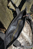 Zippered Cowhide Tote ~ Brown Brindle