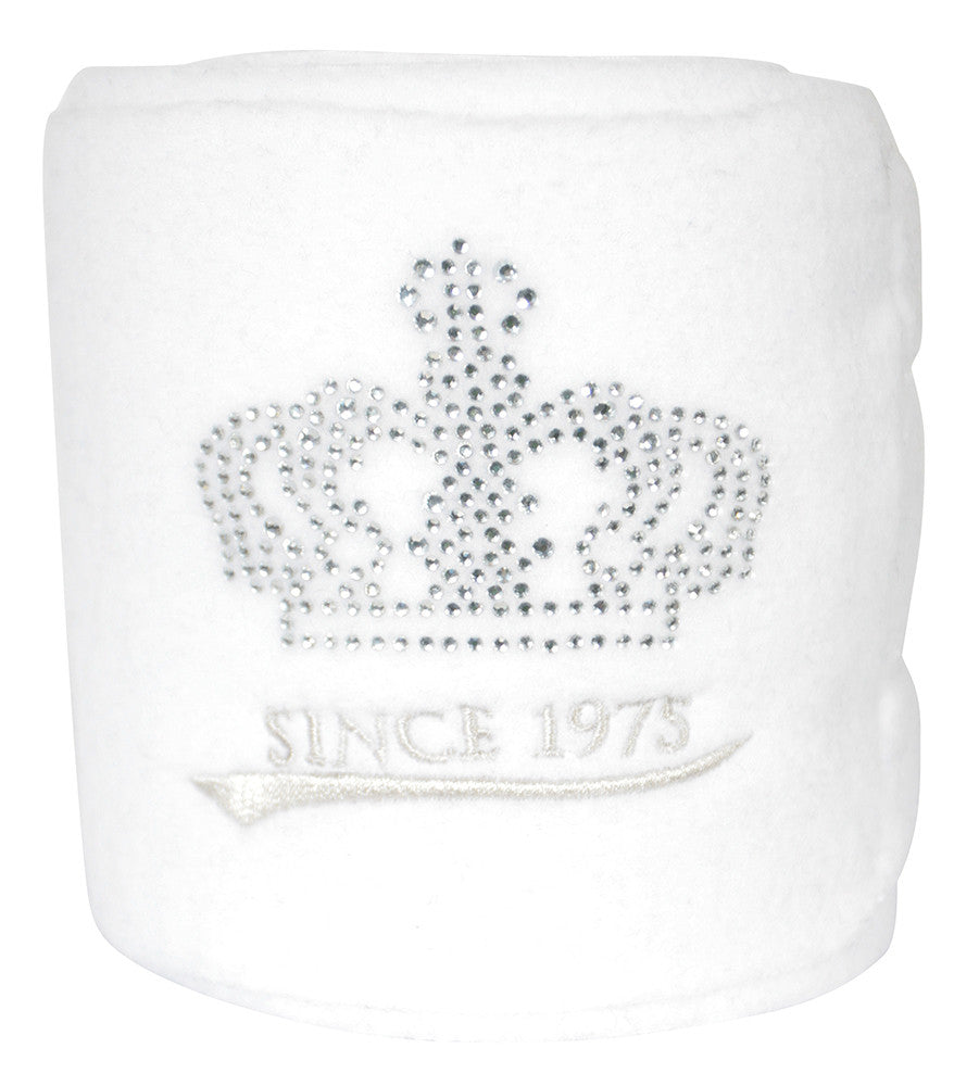 PFIFF CRYSTAL BANDAGES WHITE - Divine Equestrian