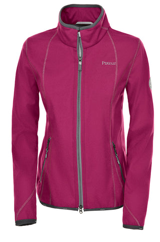 Pikeur Clara Ladies Fleece Jacket - Grapevine