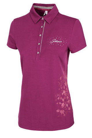 Pikeur Charlene Ladies Polo Shirt - Grapevine
