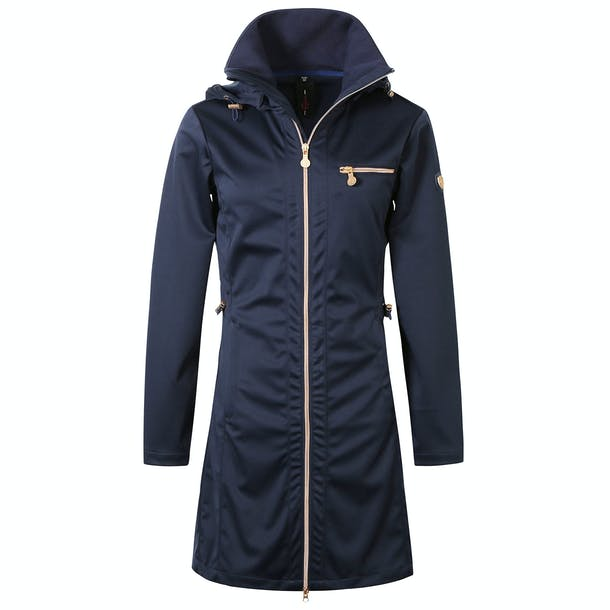 Covalliero SS21 Softshell Long Ladies Jacket - Navy - Divine Equestrian