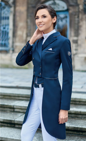 Fairplay Isabelle Ladies Tailcoat - Navy