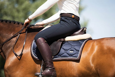 PS of Sweden Robyn High Waist Ladies Breeches - Deep Sapphire - Divine Equestrian