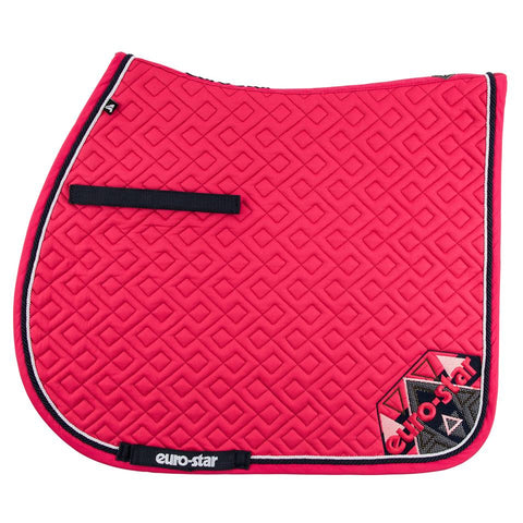 Euro-star SS17 Excellent Saddle Pad - Lychee
