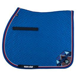 Euro-star SS17 Excellent Saddle Pad - Blue Jay - Divine Equestrian