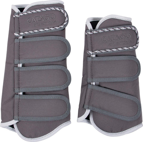 CATAGO Diamond Brushing Boots - Grey
