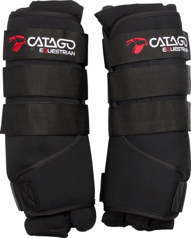 CATAGO FIR-tech Healing leg wrap -  black Only - Divine Equestrian