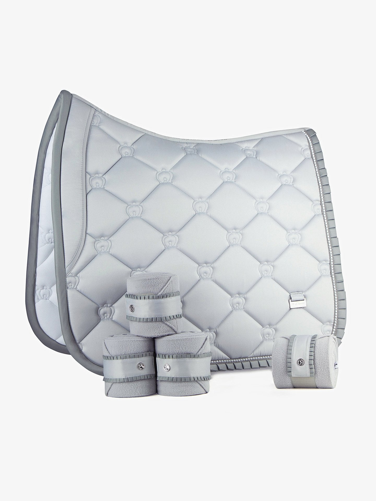 PS Of Sweden Silver Ruffle Set - Full Dressage
