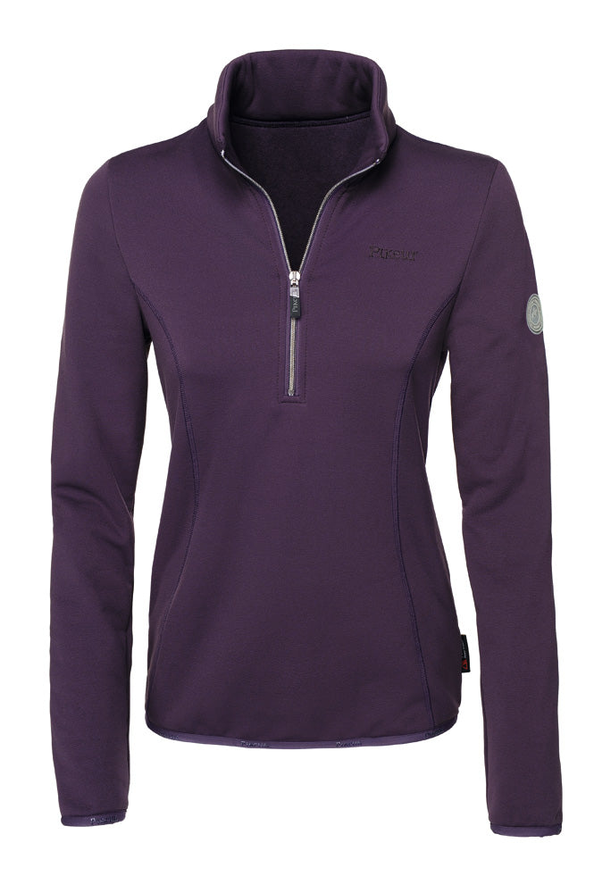Pikeur Siska Polartec ® Powerstretch  Ladies Top - Grape - Divine Equestrian