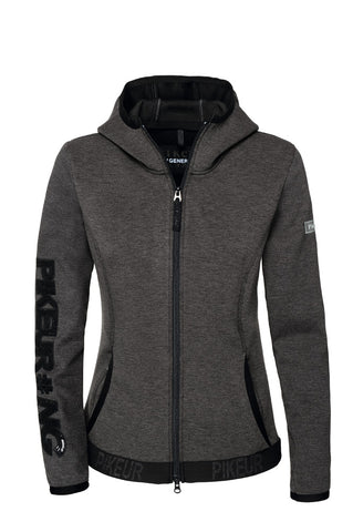 Pikeur New Generation Ginny Technical Fleece with hood - Grey Melange