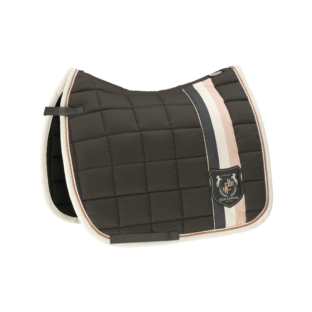 Eskadron Heritage Big Square Cotton - Military - Dressage Only