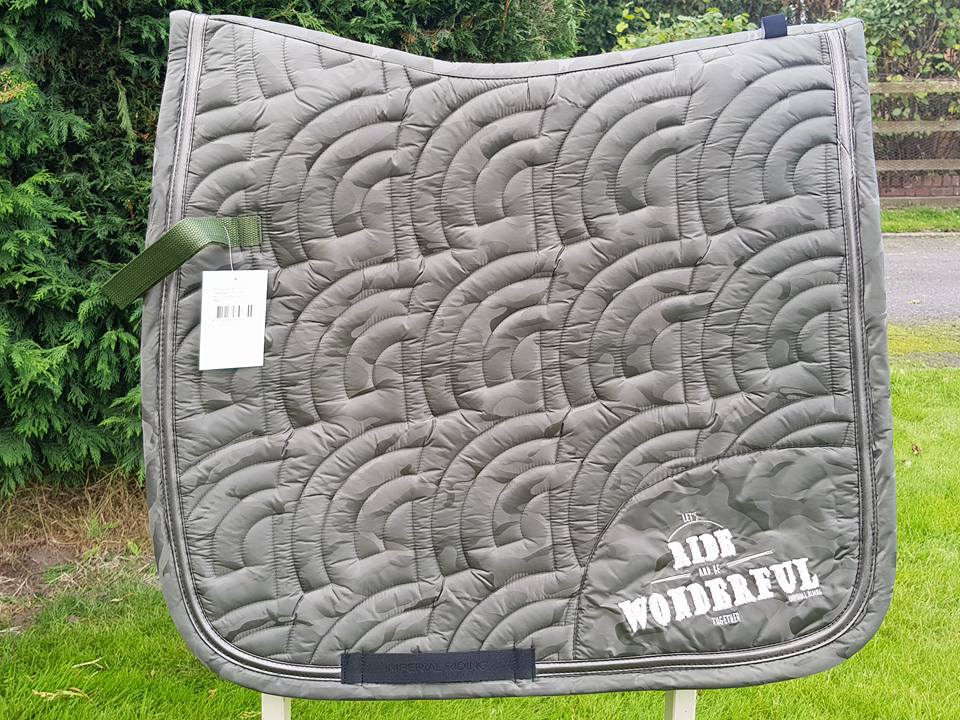 Imperial Riding Unicorn Saddle Pad - Dressage Only - Tonal Army