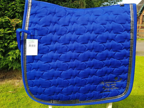 Imperial Riding Front Row saddle Pad - Dressage Only - Royal Blue - Divine Equestrian