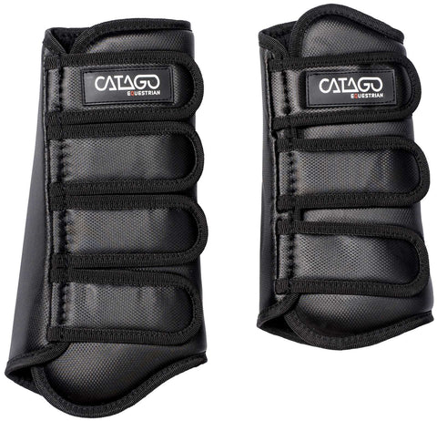Catago Dressage Boots Set of 4  - Black