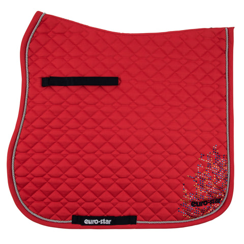 Euro-star SS17 Specular Saddle Pad - Lychee