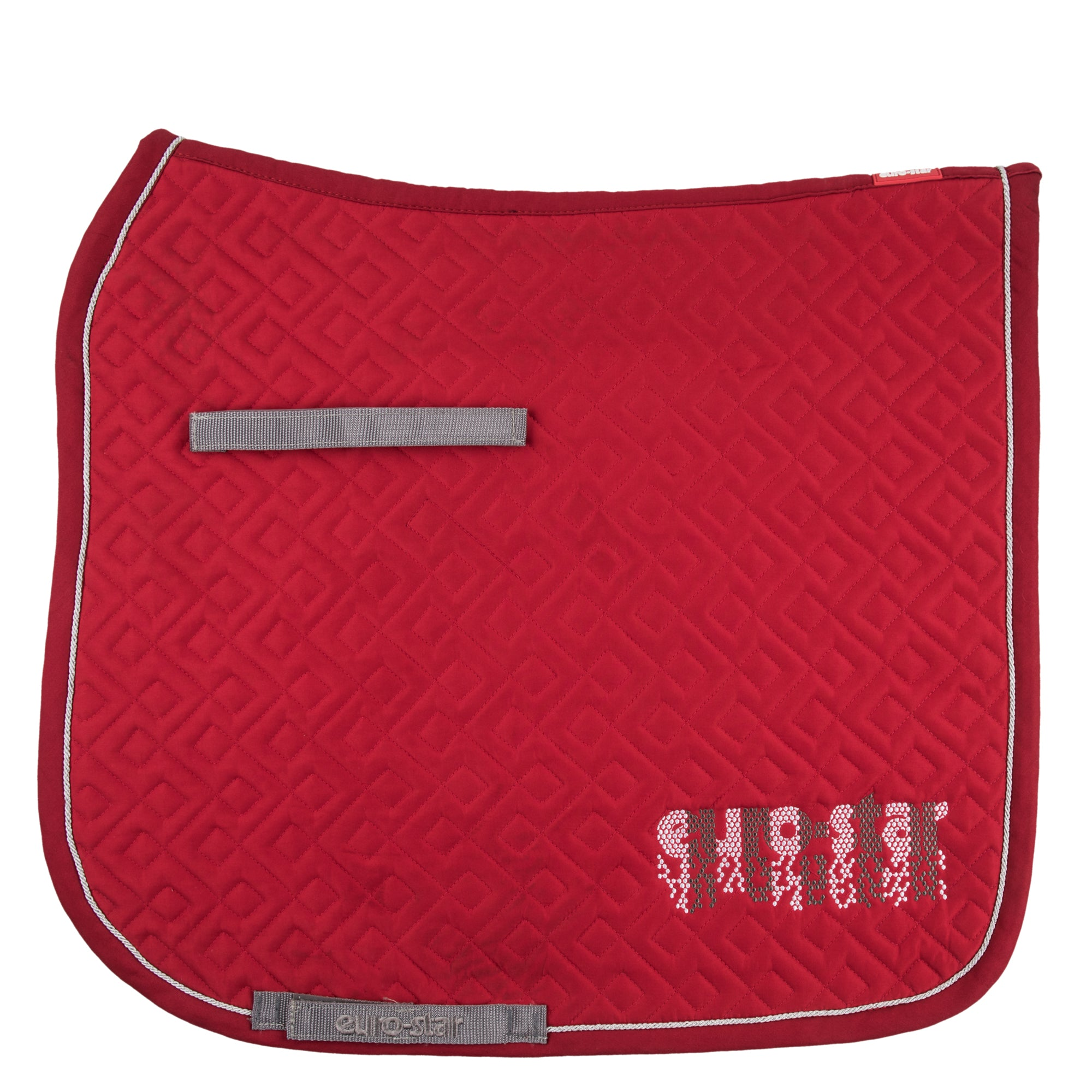 Euro-star AW17 Excellent Saddle Pad - Beaujolais - Dressage only - Divine Equestrian