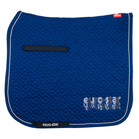 Euro-star AW17 Excellent Saddle Pad - Deep Blue - Dressage only