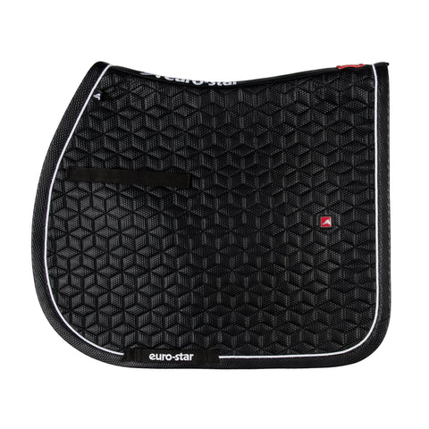 Euro-star AW17 3D saddle Pad - Navy or Black