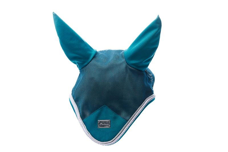 RBH Platinum Sensitive Fly Hood - Harbour Blue - Divine Equestrian