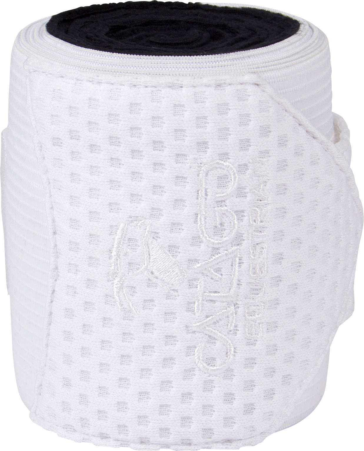 Catago Fir Tech Bandages - Black - White - Divine Equestrian
