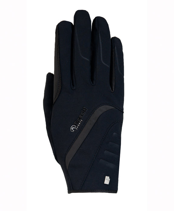 Roeckl Willow Winter Glove - Black - Divine Equestrian