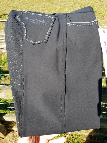 Imperial Riding Mindset - Water resistant Breeches - Navy - Divine Equestrian