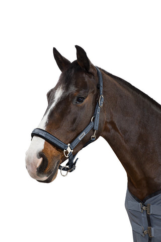 Eskadron NG 2017 Pin Buckle Headcollar - Smoked Blue Ethno
