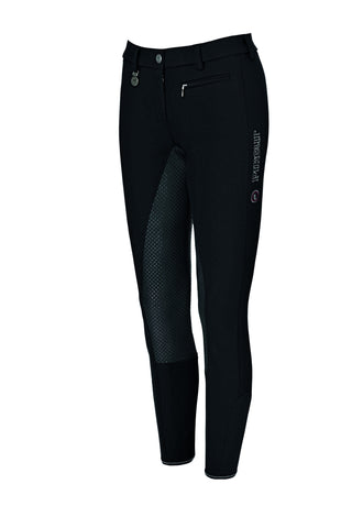 Pikeur Lucinda Grip II Corkshell Winter Breeches - Black