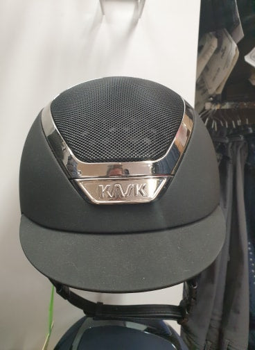 Kask Dogma Chrome Light Anthra / Silver - 56cm - Special Offer - Divine Equestrian