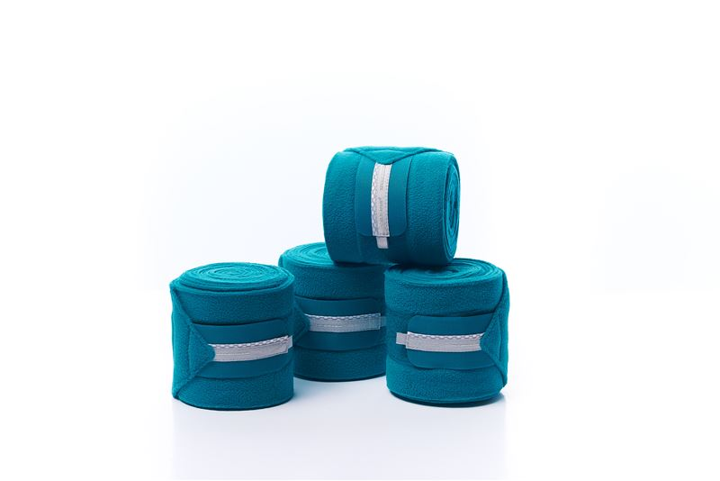 RBH Platinum Sensitive Fleece Bandage - Harbour Blue - Divine Equestrian