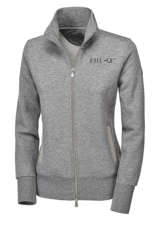 Pikeur Premium Paola Sweat Jacket - Light Grey