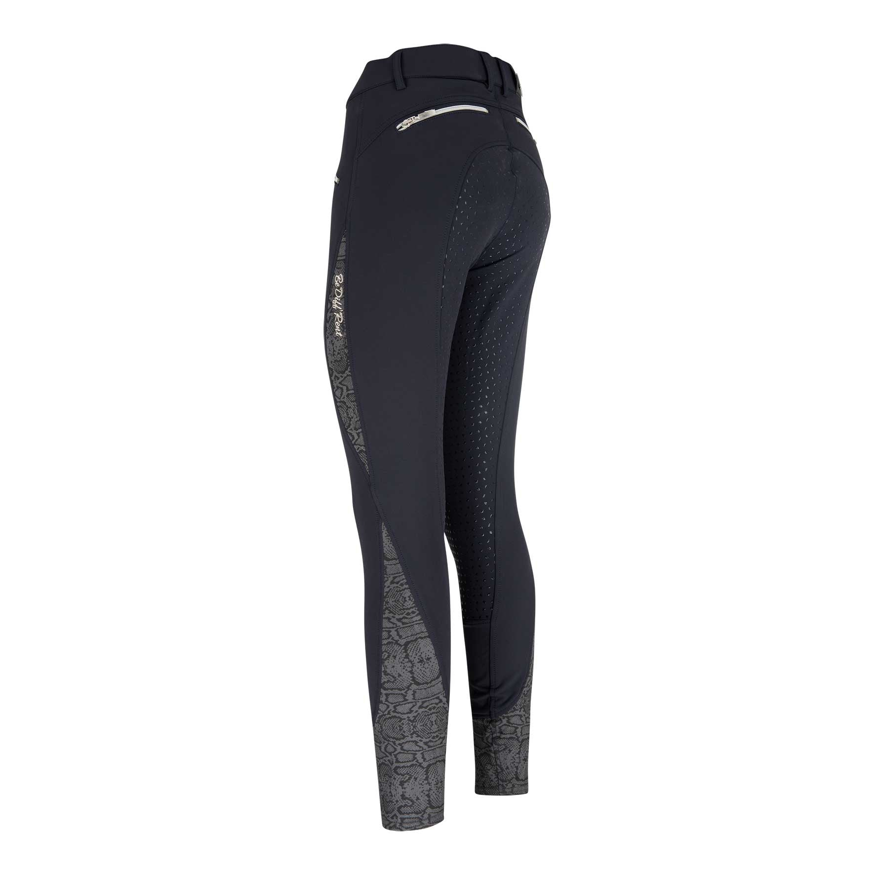 Euro-Star Easyrider AW16 Dione P Full Grip Breeches - Navy or Raven Grey