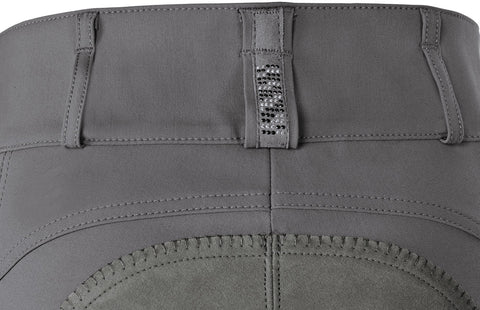 Pikeur AW17 Candela Strass Full seat Breech - Light Grey - limited edition