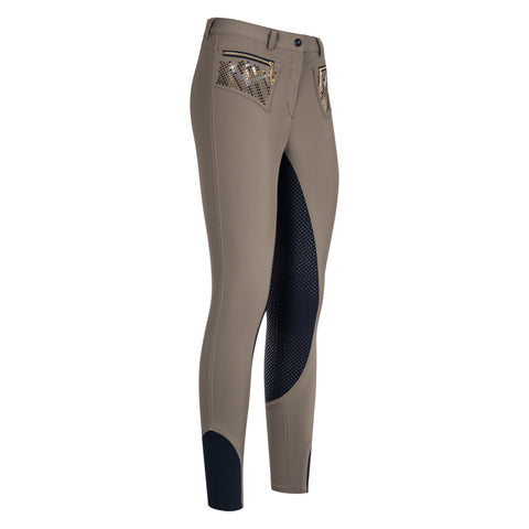 Euro-star Coco Glam Full Grip Breeches - Tundra